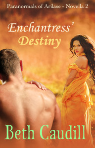 Cover for Enchantress' Destiny