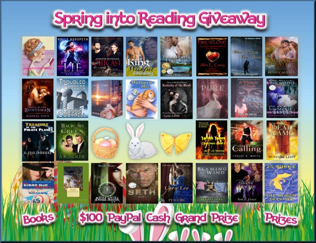 Spring Into Reading Giveaway books