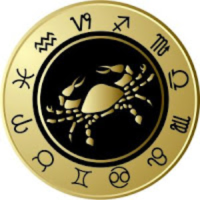 Zodiac Cancer badge