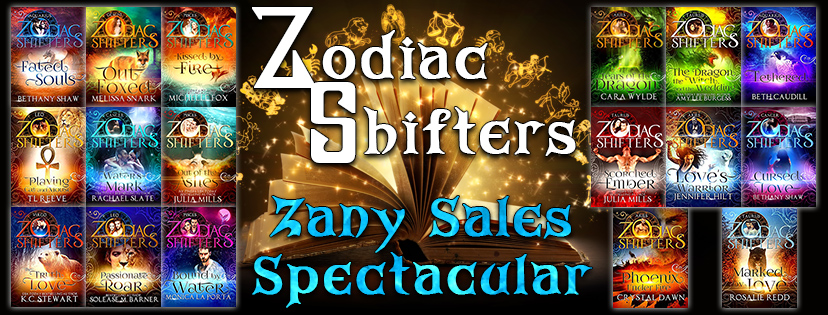 Zodiac Shifters - Zany Sales Spectacular Cover Banner