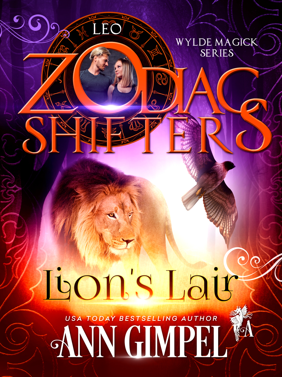 Lion's Lair by Ann Gimpel Cover