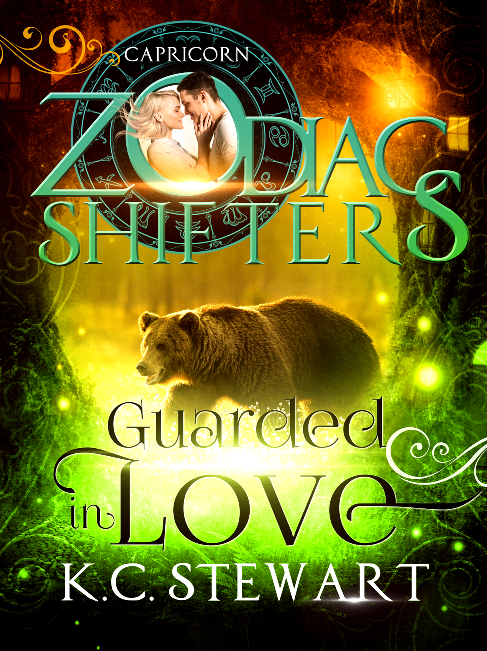 Guarded in Love Cover by K.C. Stewart