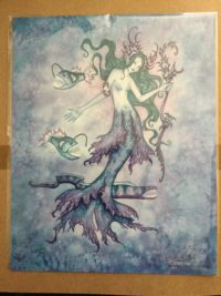 Amy Brown Mermaid Print