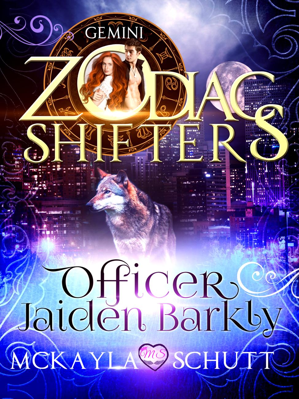 Officer Jaiden Barkly Cover