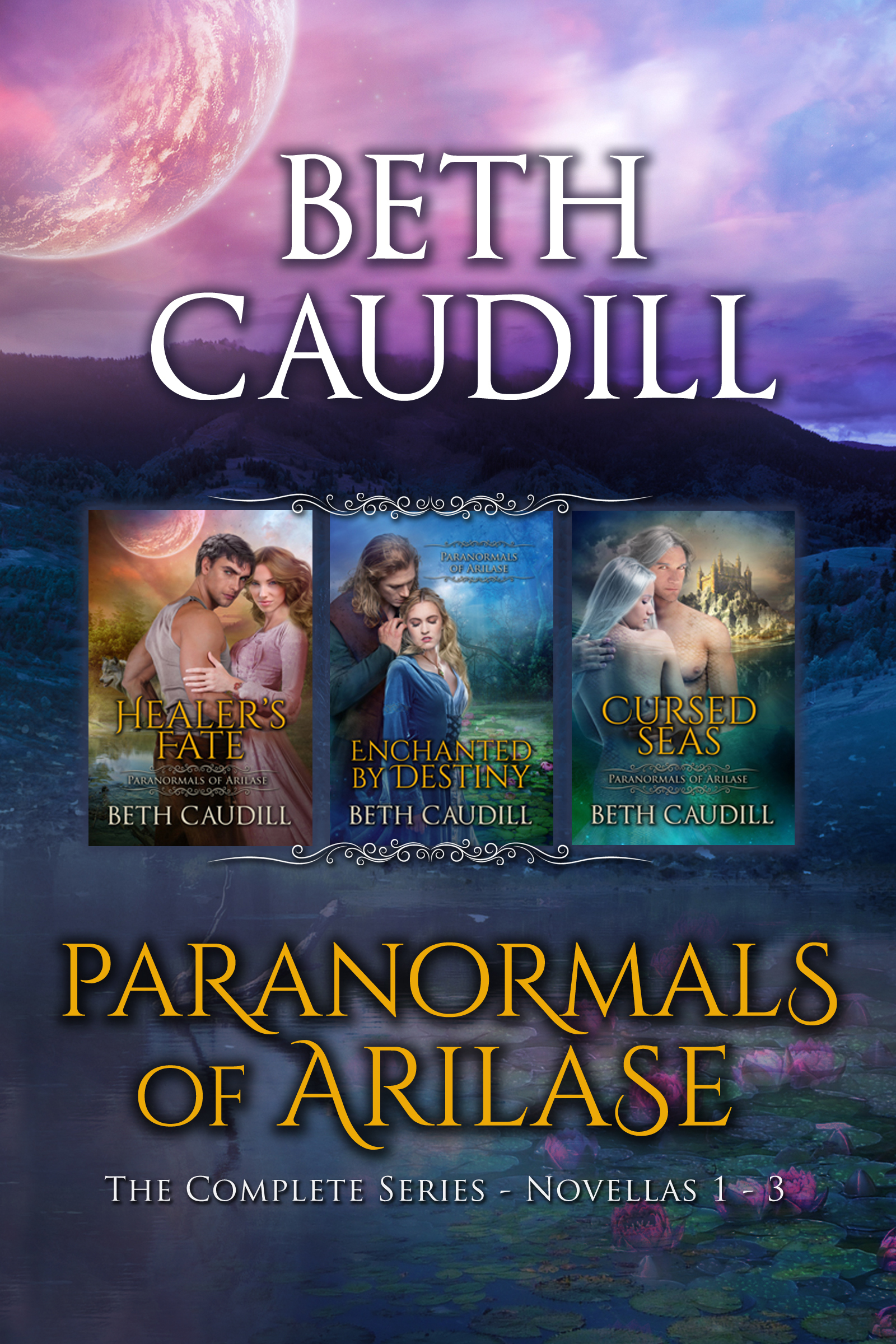 Paranormals of Arilase Box Set Cover